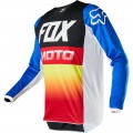 Bluza offroad FOX 180 Fyce Blue/Red 2020
