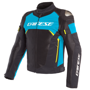 Kurtka Dainese Dinamica Air D-Dry Black/Blue/Fluo Yellow
