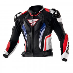 Kurtka SHIMA Apex ST Black/Red/Blue