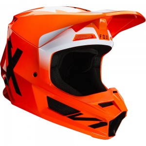 Kask FOX V-1 Werd Flo Orange 2020