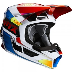 Kask FOX V-1 Yorr Blue Red 2020