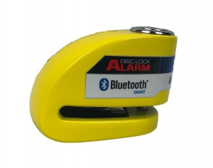 Blokada Xena XX6 Bluetooth z alarmem Yellow