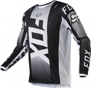 Bluza offroad FOX 180 Oktiv Black/White 2021