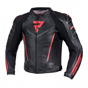 Kurtka Rebelhorn Fighter Black/Flo Red