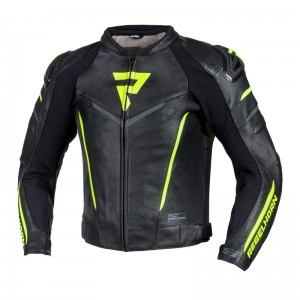 Kurtka Rebelhorn Fighter Black/Flo Yellow