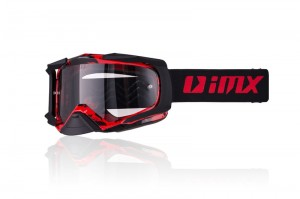 Gogle iMX Dust Graphic Red/Black Matt (2 szyby)