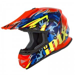 Kask iMX FMX-01 Camo Flo Orange