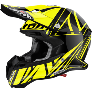 Kask AIROH Terminator 2.1 CUT Yellow