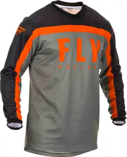 Bluza offroad FLY F-16 Grey/Black/Orange 2020