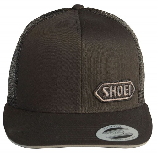 Czapka z daszkiem trucker SHOEI Black/Grey