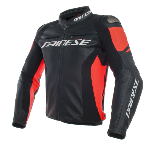 Kurtka Dainese Racing 3 Black/Black/Fluo-Red