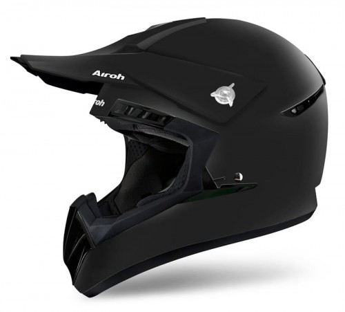 Kask crossowy AIROH Switch Black Matt