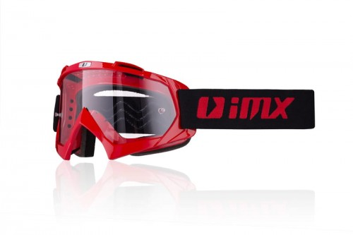 Gogle iMX Mud Red