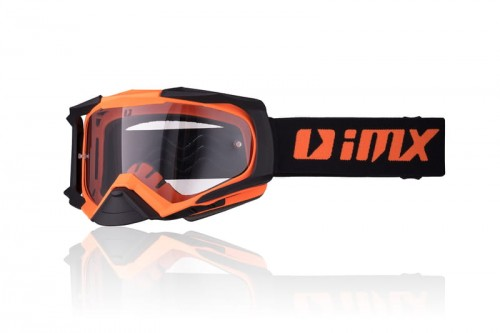 Gogle iMX Dust Matt Orange/Matt Black (2 szyby)